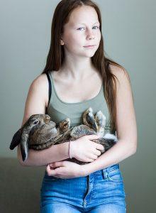 Jannica Honey girl rabbit