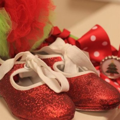 Little Red Tap Shoes