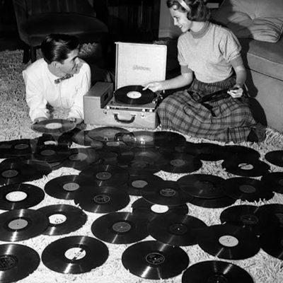 Vinyl for food banks