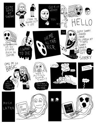 Walter Scott's graphic novel series Wendy